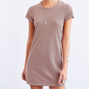 Urban Outfitters byCorpus Striped T-Shirt Dress